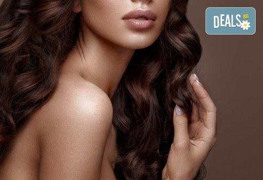 Подстригване, кератинова терапия за коса в три стъпки и оформяне със сешоар в луксозния салон Bona Dea! - Снимка 2