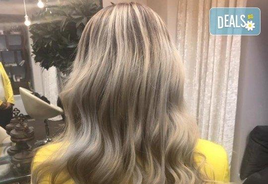 Подстригване, кератинова терапия за коса в три стъпки и оформяне със сешоар в луксозния салон Bona Dea! - Снимка 7