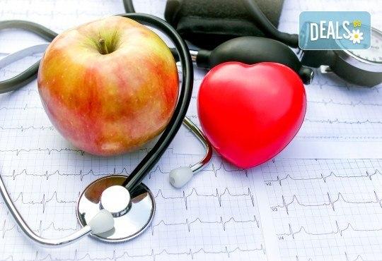 Пакет Аполон - преглед, консултация, ЕКГ при кардиолог, изследвания - биохимия, хормони, урина и още + анализ на изследванията, терапия и препоръки в ДКЦ Alexandra Health! - Снимка 1