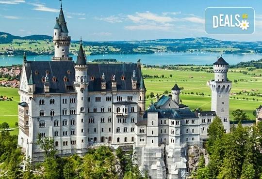 Август в Мюнхен, Любляна, Залцбург и Баварските замъци: 5 нощувки и закуски, транспорт