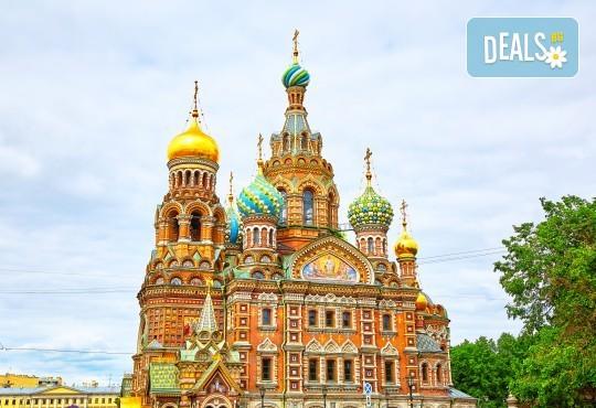 Москва, Санкт Петербург: самолетен билет, трансфер, 7 нощувки, 6 закуски, 6 вечери, круиз