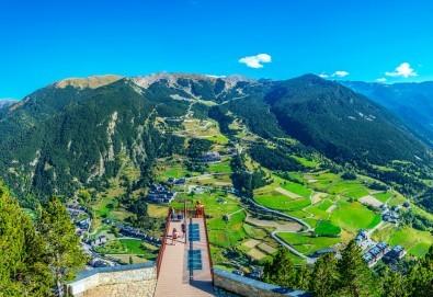 Ранни записвания за екскурзия до Андора през септември! 4 нощувки със закуски и вечери в Hotel Panorama 4*, самолетни билети и трансфери, индивидуална програма от Маджестик Турс! - Снимка