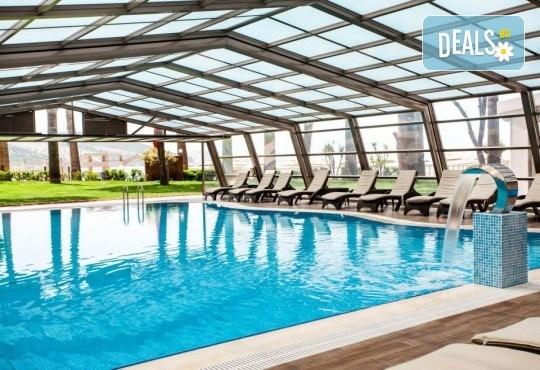 На море през май или октомври в Кушадасъ, Турция! 5 или 7 нощувки на база All Inclusive в хотел Tusan Beach Resort 5*, безплатно за дете до 12 г., възможност за транспорт - Снимка 13