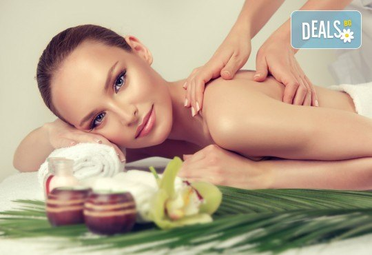 Комбиниран масаж на гръб с успокояващ ефект с масла от японска вишна, кокос или кафе в Масажно студио Теньо Коев! - Снимка 2