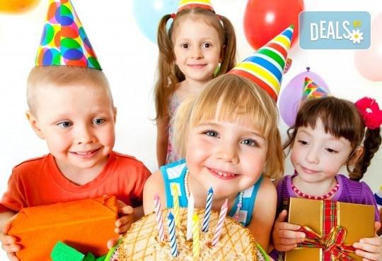 3 часа наем на зала за детски рожден ден в Детски център Щастливи деца