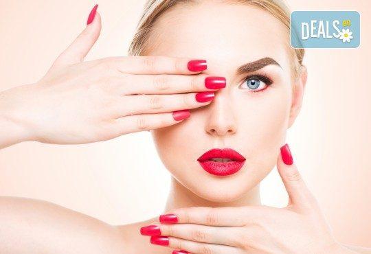 Красиви нокти! Изграждане на ноктопластика с гел SNB и маникюр с обикновен или гел лак в салон за красота Madonna! - Снимка 1