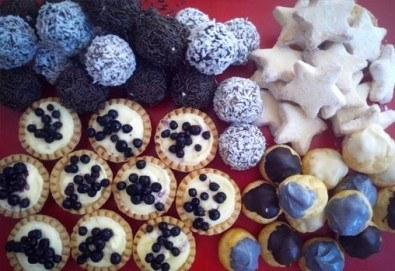 Сладки на килограм! Бутикови сладки фантазии, един или два килограма от майстор-сладкарите на Muffin House!