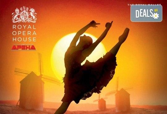"""Кино Арена представя блестящ балет от сцената на Ковънт Гардън ! """"Дон Кихот"""", спектакъл на Карлос Акоста, гледайте на 3, 6 и 7 април в кината в страната - Снимка 1"""