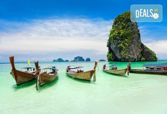 Екзотична почивка в Тайланд на остров Пукет, с Лале Тур! Самолетен билет, летищни такси и включен багаж, трансфери, 7 нощувки със закуски в хотел 3 или 4*, водач - Снимка 1