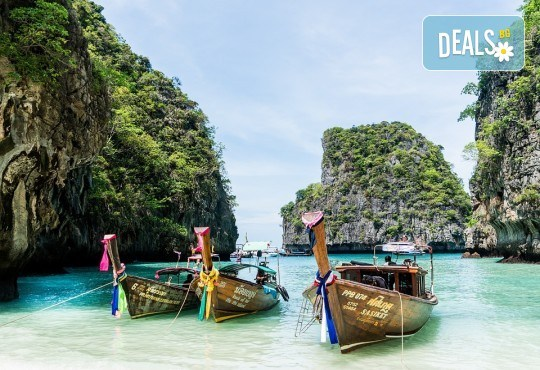 Екзотична почивка в Тайланд на остров Пукет, с Лале Тур! Самолетен билет, летищни такси и включен багаж, трансфери, 7 нощувки със закуски в хотел 3 или 4*, водач - Снимка 2