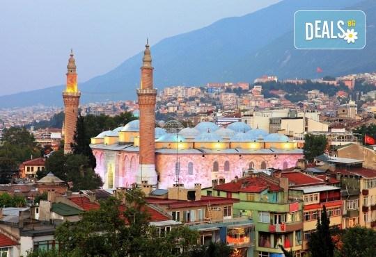 Екскурзия до Бурса и Одрин, Турция! 2 нощувки със закуски, транспорт, посещение на Одринската борса и въможност за посещение на Националния Парк Улуда - Снимка 1
