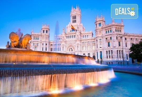 Самолетна екскурзия до Мадрид, Испания, през май и септември! 3 нощувки със закуски, самолетни билет, летищни такси и програма в Мадрид с местен екскурзовод - Снимка 1