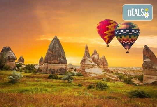 Потвърдено пътуване! Екскурзия през май до Кападокия, Истанбул, Анкара, Коня и Бурса! 7 нощувки със 7 закуски и 5 вечери, транспорт и водач от агенция Шанс 95! - Снимка 1