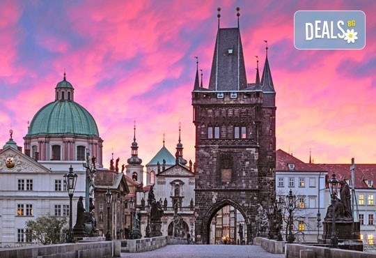 През април в Прага, Братислава, Гьор и Панонхалма: 3 нощувки и закуски, транспорт