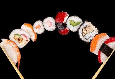 Споделете с приятели! Вземете апетитен суши сет с 30 хапки от Sushi House! - Снимка