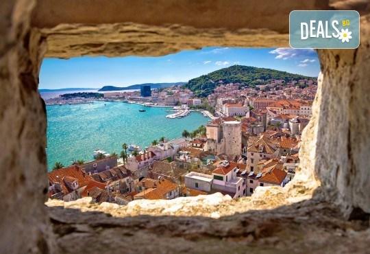 До Загреб, Сплит, Дубровник, Будва и Котор: 5 нощувки, закуски, 2 вечери, транспорт