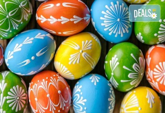 Посрещнете Великден в слънчева Гърция! 3 нощувки със закуски и вечери, Великденски обяд с жива музика, агнешко печено, напитки, транспорт и водач! - Снимка 1