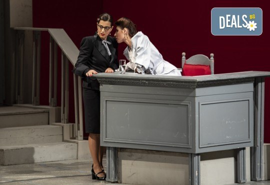 Съдебен процес с ваше участие в Театър София! Гледайте Нощта на 16-ти януари от Айн Ранд на 18.04. от 19ч., билет за един - Снимка 11
