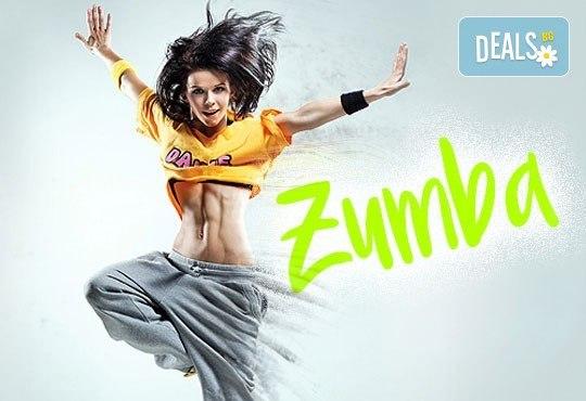 Да стопим калории по забавен и приятен начин! 4 тренировки ZUMBA FITNESS в Студио за аеробика и танци Фейм! - Снимка 1