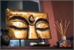 Терапия за лице: Чудото на невена и колагена в едно, почистване и тониране на вежди и халотерапия, в Thai SPA България МОЛ - Снимка