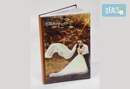 Сватбено фото- и HD видеозаснемане + фотокнига и подарък: разпечатана снимка в рамка по избор на клиента от Photosesia.com! - Снимка 6