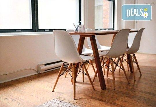 Професионално машинно изпиране и подсушаване на 6 седящи места на диван + 4 тапицирани стола от почистване КИМИ! - Снимка 3