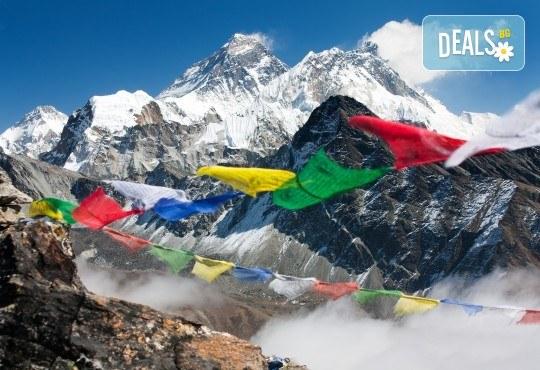Пътуване до Непал с водач с български език! Самолетен билет, летищни такси и включен багаж, всички трансфери, 9 нощувки пълен пансион, екскурзии, входни такси, възможност за полет над Еверест - Снимка 1