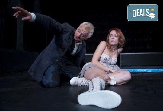 На 17-ти април (сряда) гледайте Пияните с Весела Бабина, Геро и Анастасия Лютова в Малък градски театър Зад канала! - Снимка 1