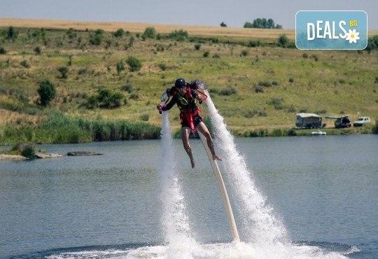 15-минутен самостоятелен или тандемен полет с Jet Pack край София от Extreme sport
