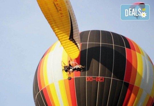 Свободен полет за един, двама или трима, заснемане и шампанско от Extreme sport!