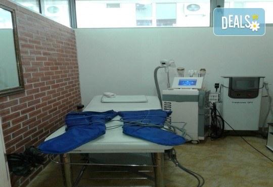 Парафанго - процедура за отслабване чрез третиране на зоната с течен парафин, увиване с фолио и термоодеяло, в салон за красота Алма Морел! - Снимка 7