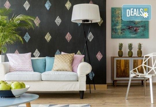 Професионално пране и подсушаване на диван с 4 седящи места и матрак - 1, 1,5 или 2 персона, по избор от почистване КИМИ! - Снимка 1