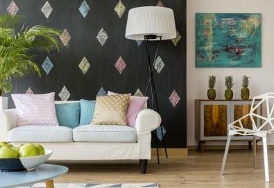 Професионално пране и подсушаване на диван с 4 седящи места и матрак - 1, 1,5 или 2 персона, по избор от почистване КИМИ! - Снимка