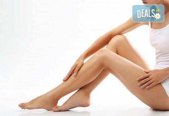 Кажете сбогом на целулита! Комбиниран антицелулитен масаж на корем, паласки, бедра и седалище в Студио Модерно е да си здрав в Центъра! - Снимка 1