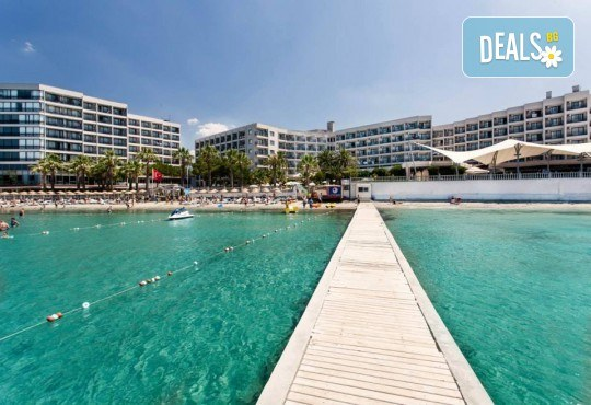 На море през май или октомври в Кушадасъ, Турция! 5 или 7 нощувки на база All Inclusive в хотел Tusan Beach Resort 5*, безплатно за дете до 12 г., възможност за транспорт - Снимка 3