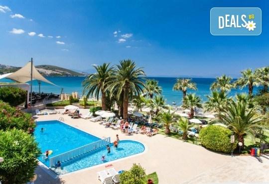 На море през май или октомври в Кушадасъ, Турция! 5 или 7 нощувки на база All Inclusive в хотел Tusan Beach Resort 5*, безплатно за дете до 12 г., възможност за транспорт - Снимка 4