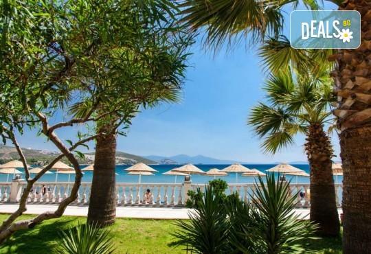 На море през май или октомври в Кушадасъ, Турция! 5 или 7 нощувки на база All Inclusive в хотел Tusan Beach Resort 5*, безплатно за дете до 12 г., възможност за транспорт - Снимка 16