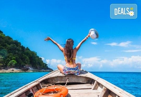 Екзотична почивка на остров Пукет в Тайланд! 7 нощувки със закуски в хотел 4*, самолетен билет с летищни такси, чекиран багаж и трансфери! - Снимка 1