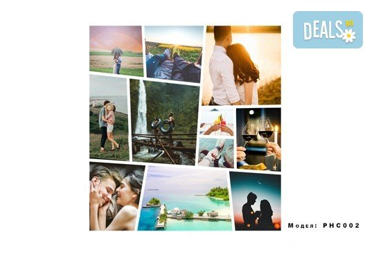 Изненадайте любим човек! Фотоколаж с дизайн, размер и брой снимки по избор на клиента от Онлайн магазин за подаръци Банана! - Снимка 2