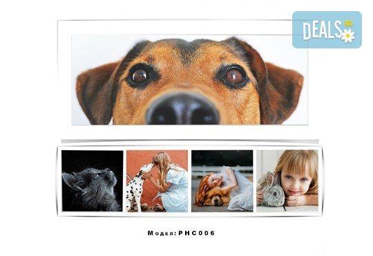 Изненадайте любим човек! Фотоколаж с дизайн, размер и брой снимки по избор на клиента от Онлайн магазин за подаръци Банана! - Снимка 6