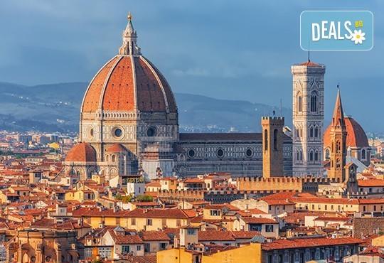 Самолетна екскурзия до Флоренция на дата по избор, със Z Tour! 4 нощувки със закуски, билет, летищни такси и трансфери! - Снимка 1
