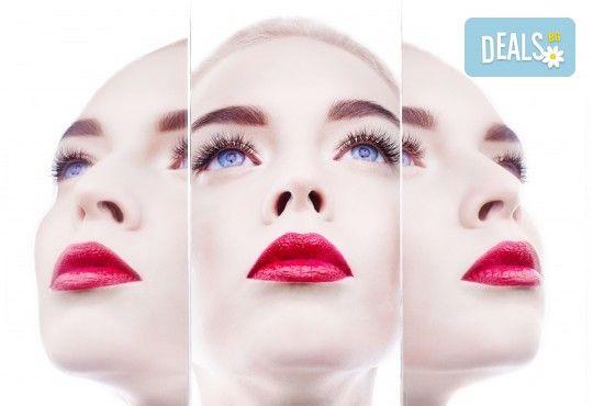 Уголемяване на устни или запълване на назолабиални бръчки чрез поставяне на 1мл хиалуронов филър с Injector Pen в салон за красота Женско Царство в Студентски град или в Центъра! - Снимка 4
