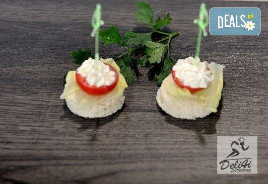 Сет Плодова свежест - 2 плата с общо 54 плодови хапки, аранжирани и декорирани за директно сервиране, от кулинарна работилница Деличи! - Снимка 3