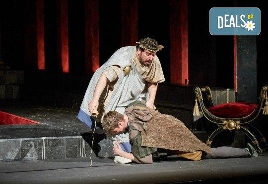 Комедията Ромул Велики с едни от най-известните китаристи на България на 8-ми май (сряда) в Малък градски театър Зад канала! - Снимка 5