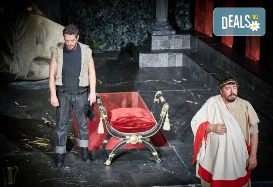 Комедията Ромул Велики с едни от най-известните китаристи на България на 8-ми май (сряда) в Малък градски театър Зад канала! - Снимка 9