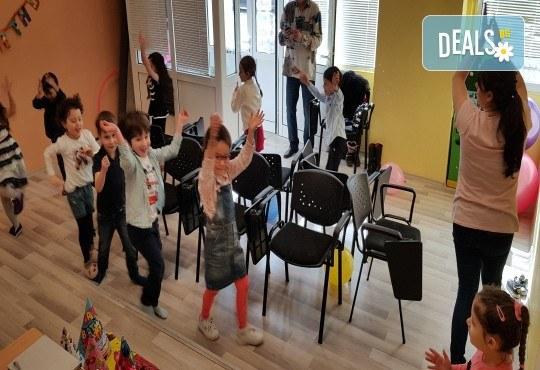 Парти Направи си сам! Над 2 часа детски рожден ден за 15 деца: включена зала, украса, напитки и възможност за лично планиране на партито в Детски център Щастливи деца! - Снимка 18