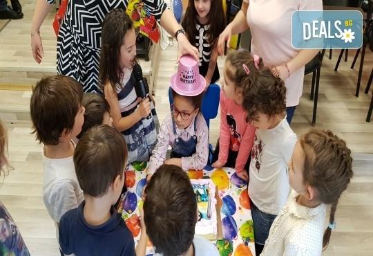 Парти Направи си сам! Над 2 часа детски рожден ден за 15 деца: включена зала, украса, напитки и възможност за лично планиране на партито в Детски център Щастливи деца! - Снимка 19