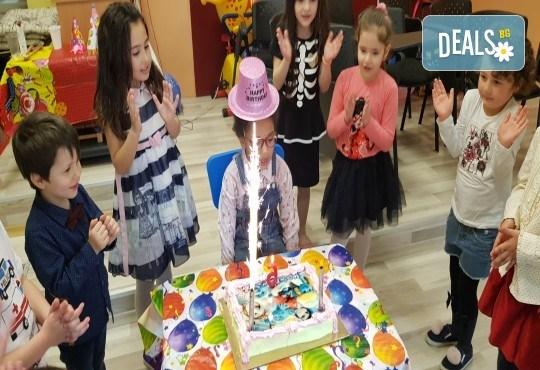 Парти Направи си сам! Над 2 часа детски рожден ден за 15 деца: включена зала, украса, напитки и възможност за лично планиране на партито в Детски център Щастливи деца! - Снимка 20