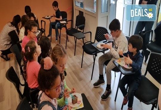 Парти Направи си сам! Над 2 часа детски рожден ден за 15 деца: включена зала, украса, напитки и възможност за лично планиране на партито в Детски център Щастливи деца! - Снимка 21