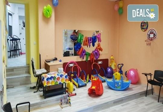Парти Направи си сам! Над 2 часа детски рожден ден за 15 деца: включена зала, украса, напитки и възможност за лично планиране на партито в Детски център Щастливи деца! - Снимка 16